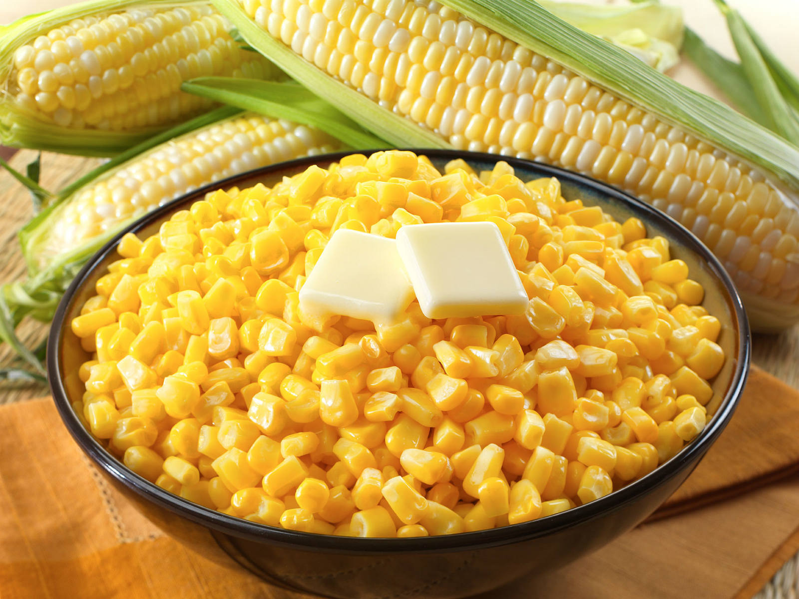 Sweet Corn Wallpaper Corn Creates More Starch as it