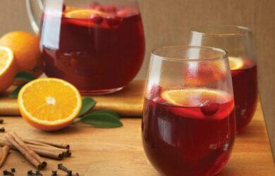cranberry detox drink