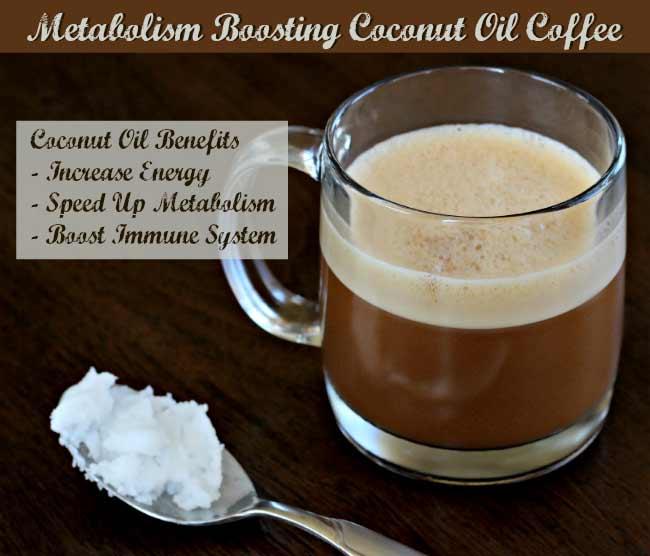 Coconut Oil Coffee Recipe Metabolism Booster Best
