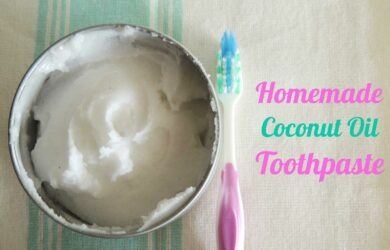 DIY Natural and Healthy Homemade Toothpaste!