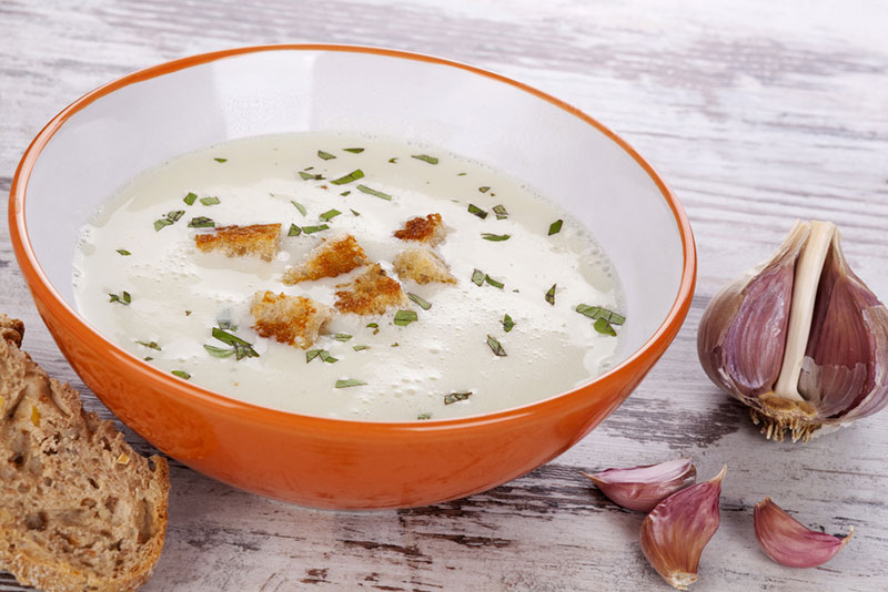 The best soup for a cold and flu ginger garlic soup for Soup for a cold