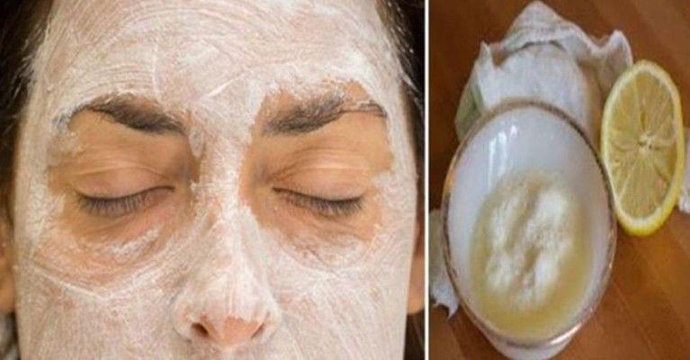 Lemon and Baking Soda Face Mask | Best Herbal Health
