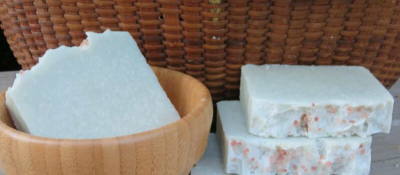 homemade sea salt soap