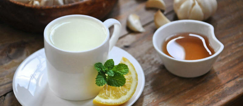 garlic tea featured