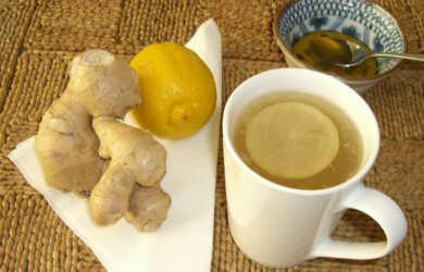 ginger diet tea