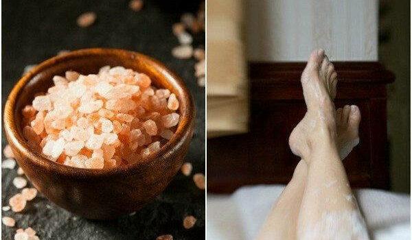 himalayan pink salt bath