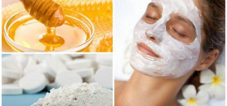 honey aspirin face mask