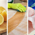 Simple Homemade Wood Cleaners