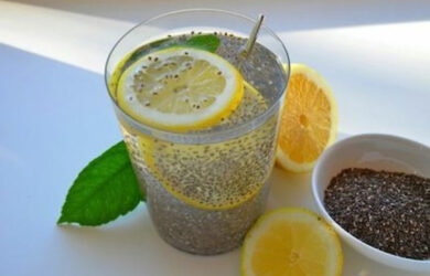 Lemon and Chia Seeds for Weight Loss