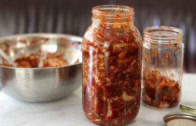 homemade korean kimchi recipe