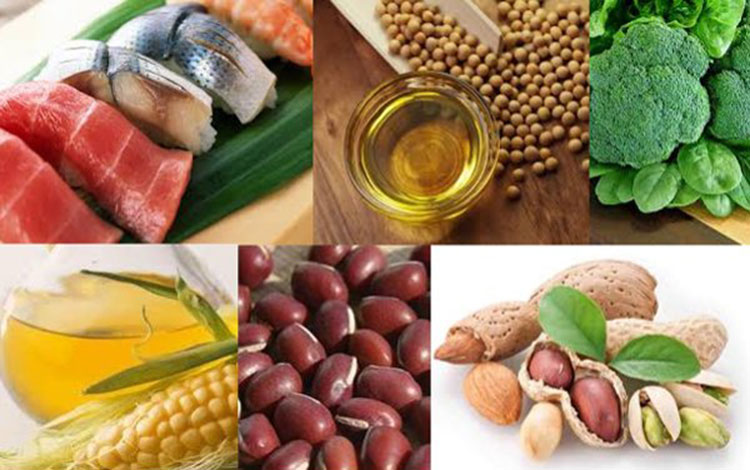 Coenzyme Q10, nuts, meat, olive oil, corn oil